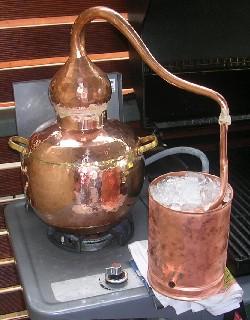 La distillation d 39 alcool en amateur for Alcool maison fabrication